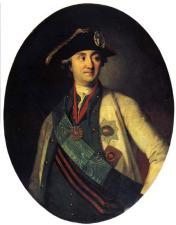 Портрет графа Орлова-Чесменского работы К.Л.Христинек